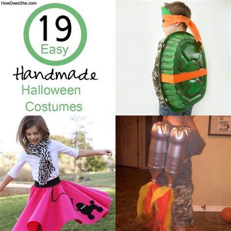 easy homemade halloween costumes  easy homemade