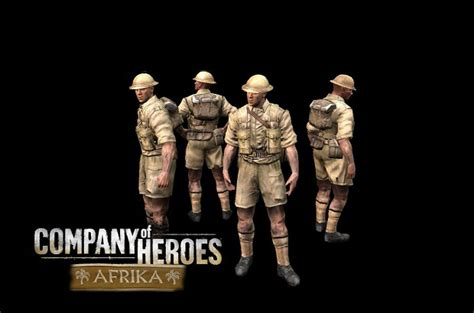infantry section infantry section image company of heroes afrika mod for