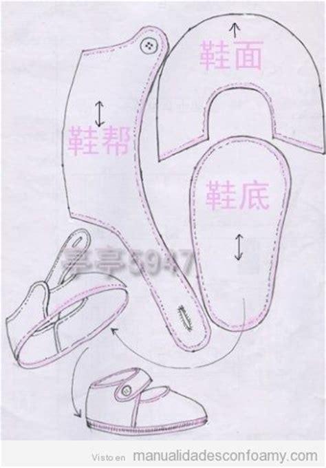 sapatinhos de beb on pinterest shoe pattern baby shoes and plantillas y moldes manualidades con foamy todo sobre