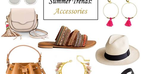 8 Accessories For Summer by Lenore Summer Trends Accessories