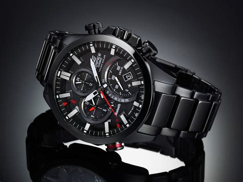 Jam Tangan Pria Hd 4 Time Leathersuper Premium Aaa 1 In Prova Casio Eqb 500 Lo Smartwatch Meccanico Sportivo
