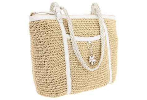 7 Casual Totes For The by Brighton Darla Straw Tote 7 Casual Totes For The