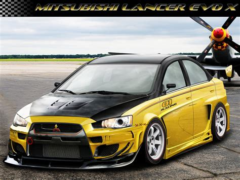 mitsubishi yellow mitsubishi lancer evo x yellow by intro92 on deviantart