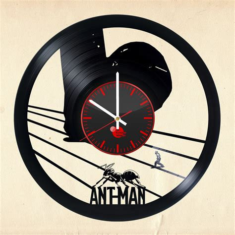 Handmade Wall Clocks - ant handmade vinyl record wall clock fan gift vinyl