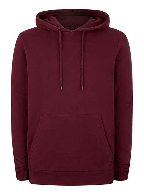 Levi S Lightweight Summer Hoodie Grey Maroon burgundy classic fit hoodie topman