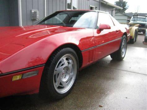 how it works cars 1988 chevrolet corvette user handbook purchase used 1988 corvette l98 in eugene oregon united states