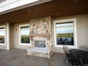 indoor outdoor fireplace sided home decorating ideas