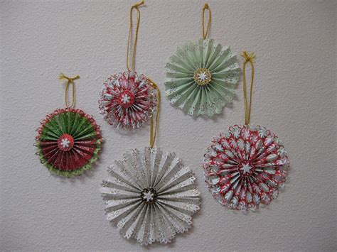 christmas paper crafts for adults 25 easy paper ornaments you can make at home magment