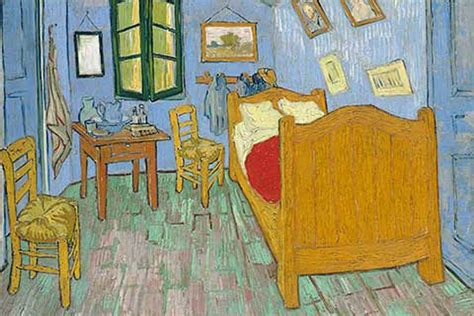 famous bedroom painting art institute of chicago rents replica of van gogh