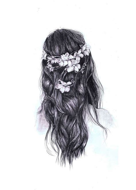 Drawing Hair by Beautiful Drawing Hair