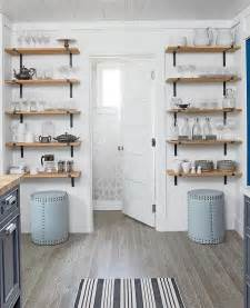 wood kitchen shelves stacked wood and cast iron kitchen shelves cottage