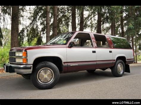 auto air conditioning service 1992 chevrolet suburban 2500 interior lighting 1992 chevrolet suburban c2500 92k 454 7 4l like new automatic 4 door suv