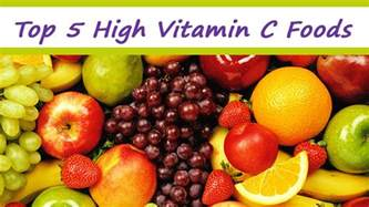 top 5 high vitamin c foods youtube