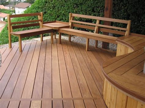 wood bench designs for decks deck seating benches for decks