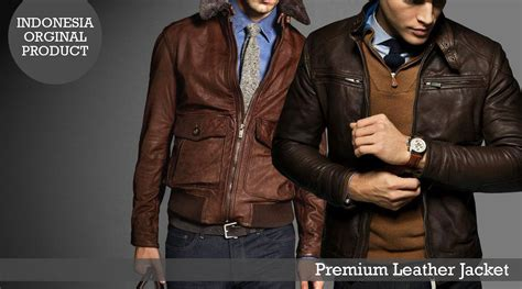 Sepatu Kulit Cowo Keren jual jaket kulit laki laki modern jaket cowo terkini