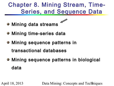 pattern analysis and data mining chapter 8 1 data mining concepts and techniques 2nd ed