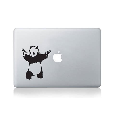 Angry Panda Iphone All Hp banksy angry panda iphone 6 sticker decalshop nl stickers voor macbook en meer