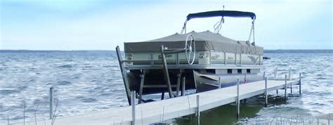 pontoon lift cantilever pontoon lifts nucraft online