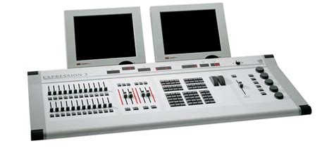 etc express lighting console etc expression 3 control board southern lighting solutions
