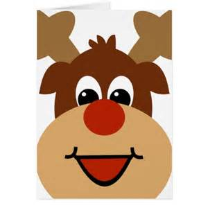 Cute cartoon reindeer reindeer cute cartoon holiday christmas greeting