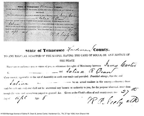 Atlanta Marriage License Records Rainwater Genealogy Source Documents