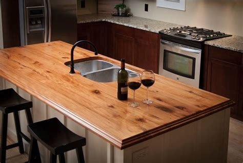Wood Kitchen Countertops More Green Home Ideas We Reclaimed Wood Countertops Address Plaques And Drapery Medallions