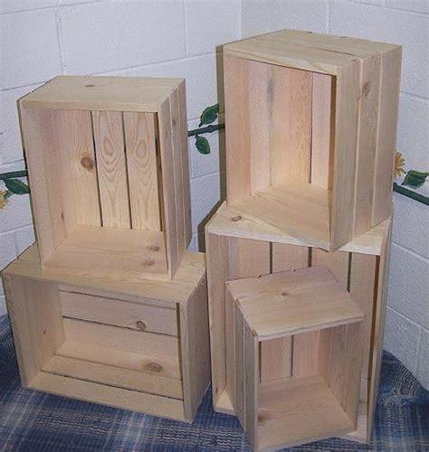 wooden crates wood nesting crates 5 wood crate set wooden crates