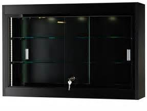Merchandise Display Case This Modern Trophy Case For Sale Has A Curved Design That