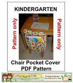 pattern for kindergarten chair pockets 1000 images about chair pocket on pinterest chair