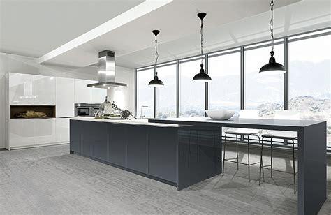 Moderne Küchen by Moderne Einbauk 252 Chen Weiss Wotzc