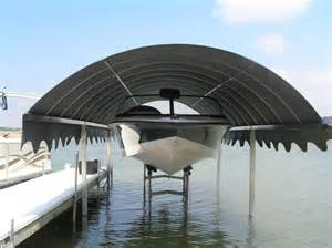 Boat Lift Canopy boat lift canopy photos from sunchaser canopy of michigan