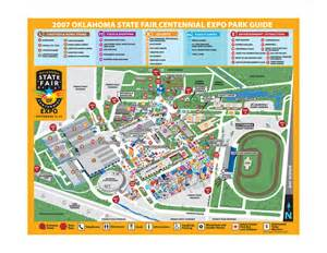 map of state fair of oklahoma state fair park map mappery