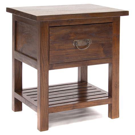 java rustic teak bedside cabinet door drawer bedside java rustic teak bedside cabinet slat shelf bedside