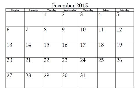 printable december 2015 calendar planner december 2015 calendar page calendar page