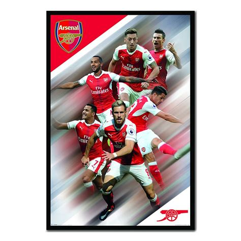 arsenal fc 2017 arsenal fc players 2016 2017 poster iposters