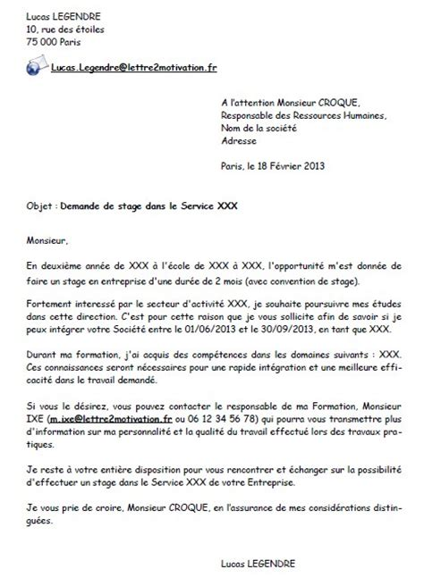 Lettre De Motivation Entreprise Bts Sp3s Modele Lettre De Motivation Bts Sp3s Document