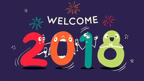 hd wallpaper2018new wallpaper 2018 happy new year welcome hd 4k celebrations new year 11550