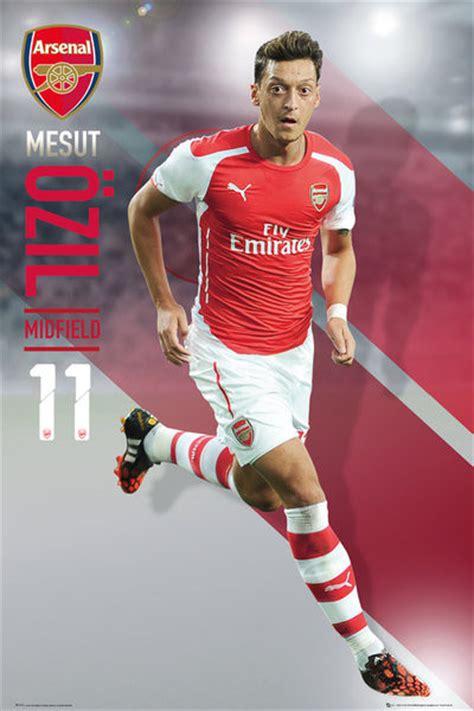 Poster Football Arsenal Fa15 arsenal fc ozil 14 15 poster sold at abposters