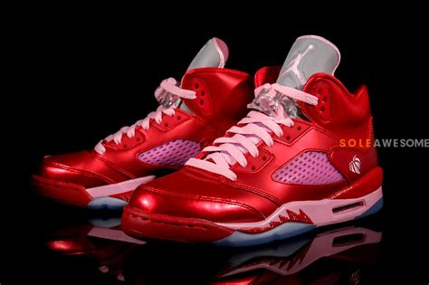 new valentines day jordans air v 5 gs s day new images