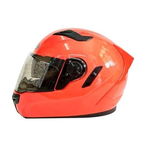 Helm Zeus 813 Jual Zeus Zs 813 Solid Helm Neon Orange
