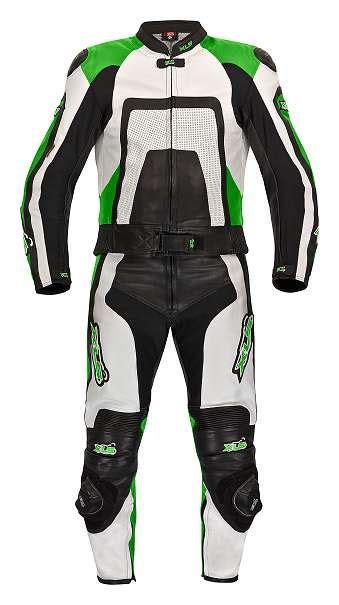 Motorradbekleidung Gr E 64 neu hochwertiger zweiteiler von xls lederkombi gr 46 48