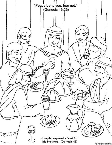 Coloring Pages And Joseph 162 Best Images About Bible Joseph On Pinterest Brother by Coloring Pages And Joseph
