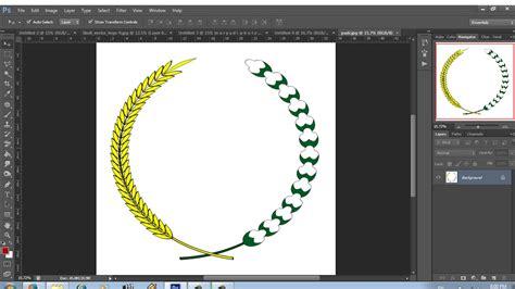 tutorial dasar photoshop youtube dasar dasar photoshop membuat padi dan kapas youtube
