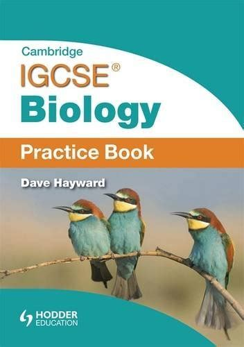 libro cambridge igcse biology workbook libro cambridge igcse biology practice book di dave hayward