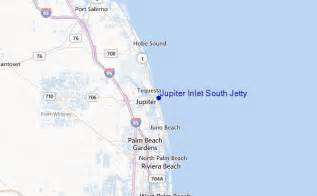 map of florida jupiter jupiter inlet south jetty surf forecast and surf reports