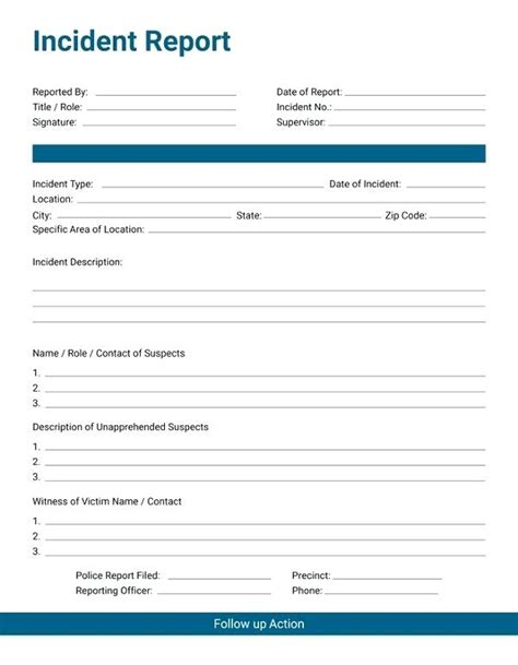 Incident Post Mortem Template by Employee Incident Report Form Post Mortem Template