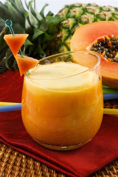 Papaya Juice Detox by Papaya Sweet And Sour Detox Smoothie Magazine By