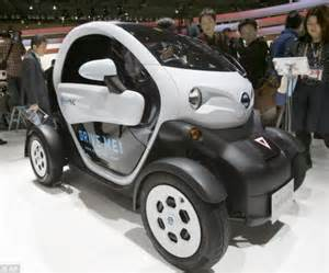 Electric Passenger Vehicles Uk Tokyo Car Exhibition Unveils The Vehicles Of The