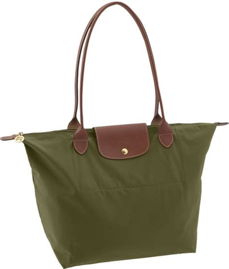 Le Pliage Green Msh longch le pliage large tote bag in green loden lyst