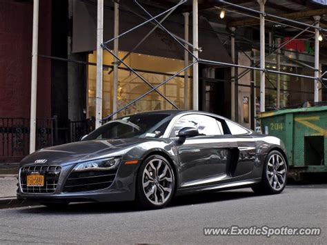Audi New York by Audi R8 Spotted In New York New York On 08 11 2012